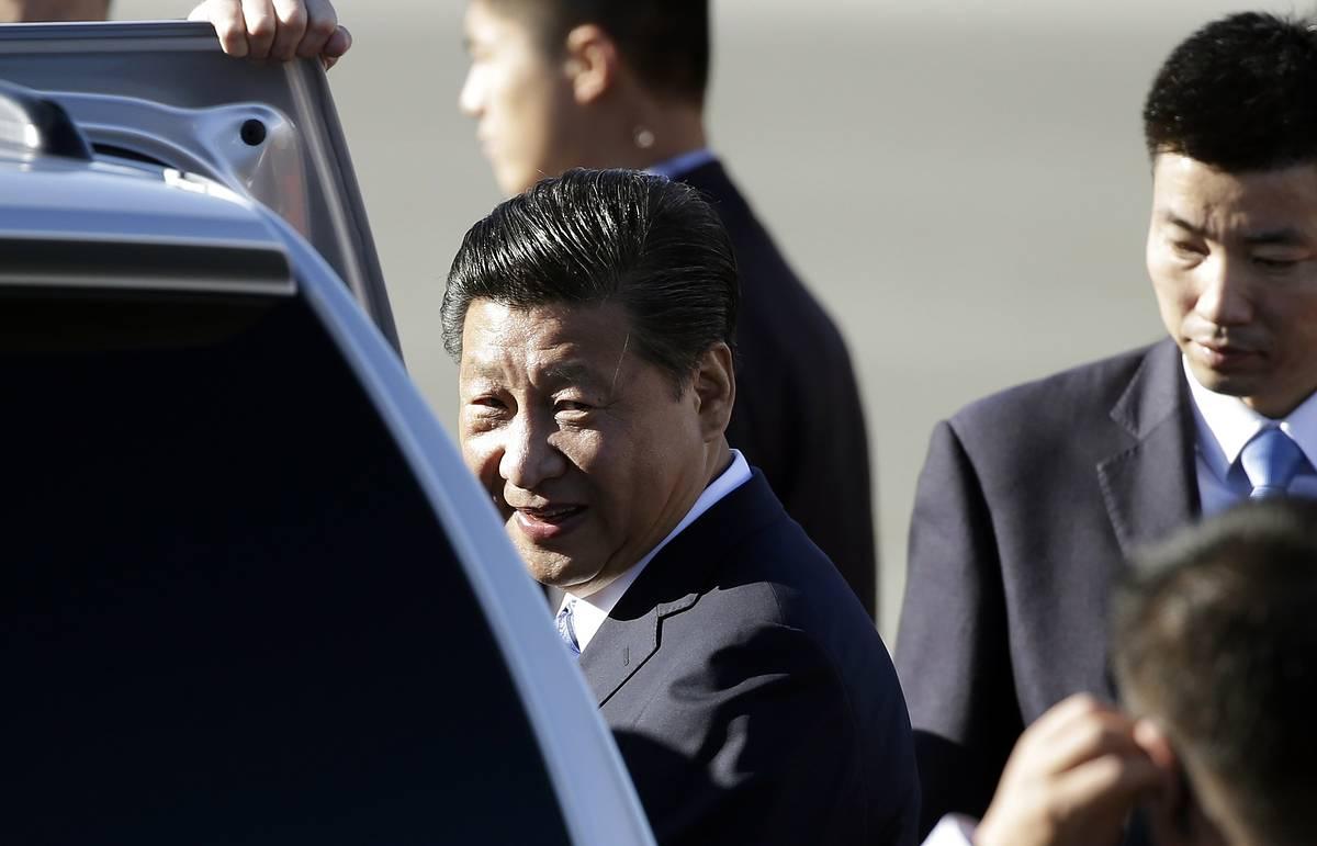 Председатель КНР прибыл с визитом в США, где обсудит вопросы торговли и безопасности