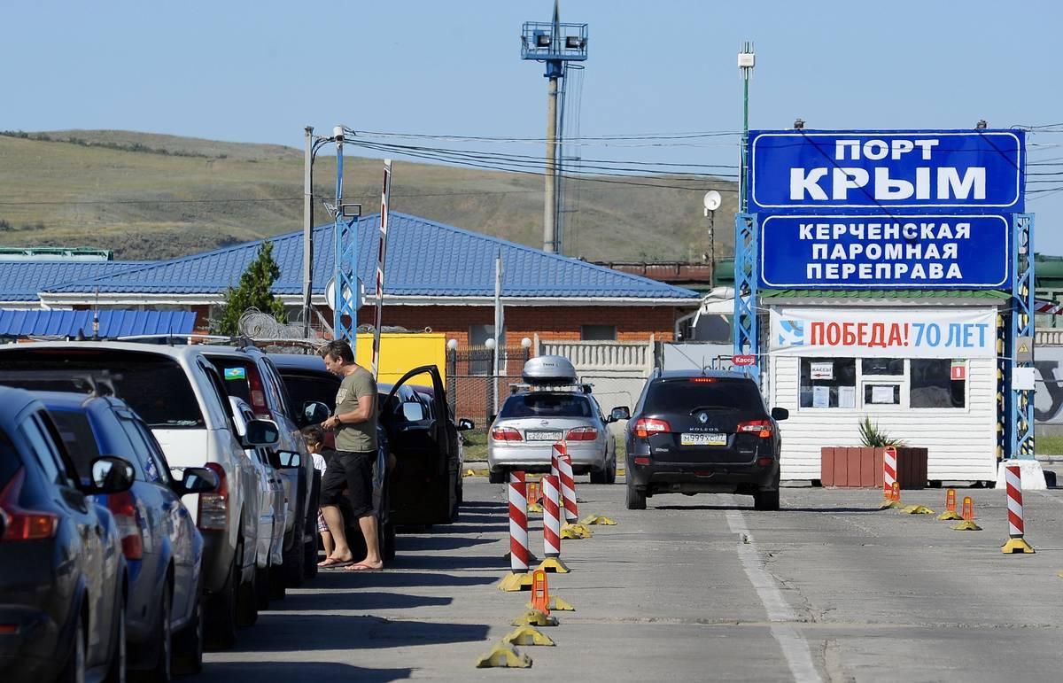 """""""Росавтодор"""" выдал разрешение на строительство моста через Керченский пролив"""