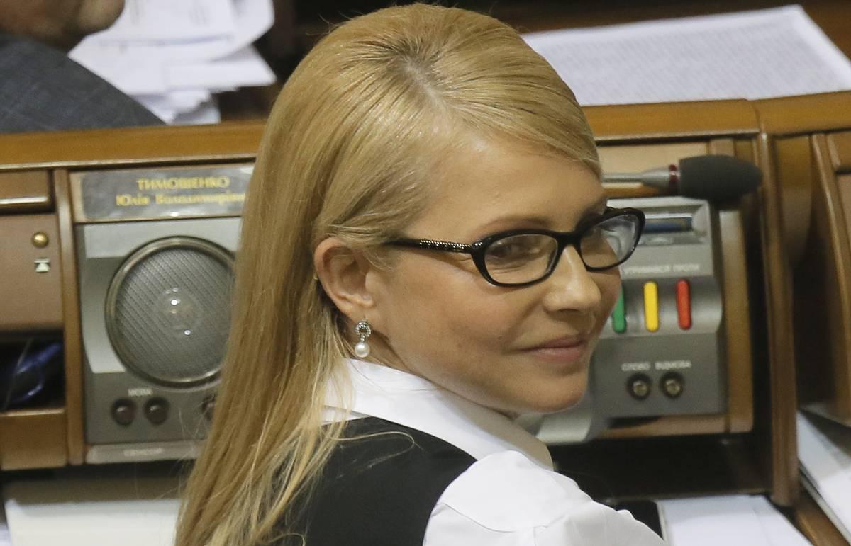 Тимошенко призвала президента Украины созвать внеочередное заседание Верховной рады