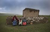 Деревня Куна в провинции Восточный Кейп в ЮАР