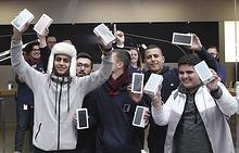 Первые покупатели iPhone 7 в Австралии