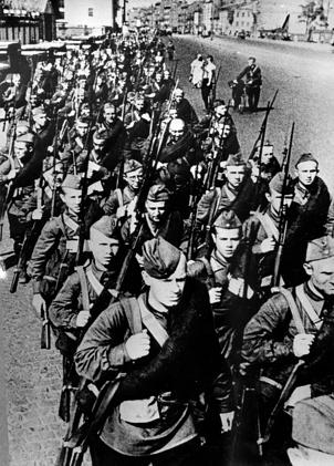 Бойцы 2 полка Кировской ДНО. 1941 г.