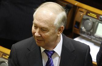 Verkhovna Rada Speaker Vladimir Rybak
