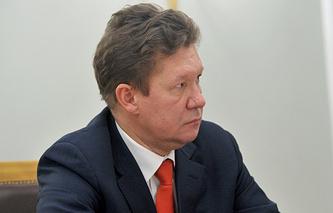 Gazprom Head Alexei Miller