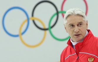 Head coach of Russian national ice hockey team Zinetula Bilyaletdinov