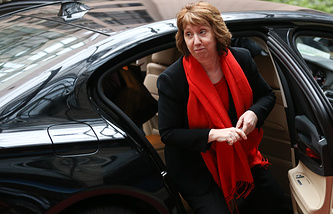 The High Representative of the European Union for Foreign Affairs and Security Policy Catherine Ashton