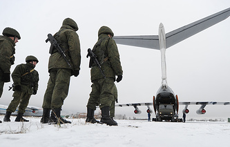 Airborn troops in Ivanovo region