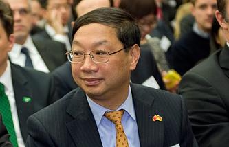 Chinese Ambassador to Germany Shi Mingde