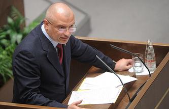 Head of the Committee on Constitutional Legislation Andrei Klishas