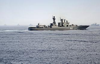Russian anti-submarine destroyer Marshal Shaposhnikov (archive)