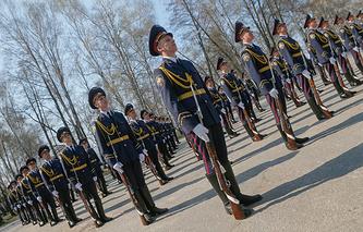 Ukrainian National Guard training
