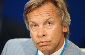 the chief of Russia's delegation to the Parliamentary Assembly of the Council of Europe Aleksei Pushkov