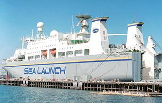 sea-based rocket launch complex Sea Launch