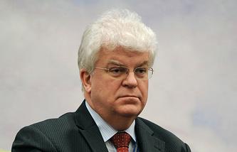 Russia's Ambassador to the EU Vladimir Chizhov