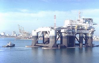 Odysseus Sea Launch platform (archive)