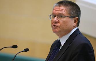Russia's Economic Development Minister Alexei Ulyukayev