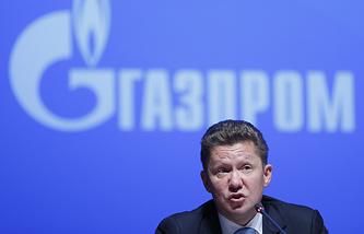 Gazprom CEO Alexei Miller