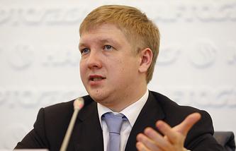Naftogaz of Ukraine's CEO Andriy Kobolev