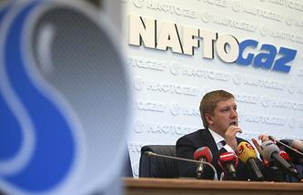 Naftogaz of Ukraine CEO Andrei Kobolev