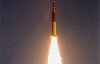 Topol missile launch (archive)