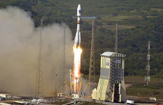 Soyuz-ST-B rocket (archive)