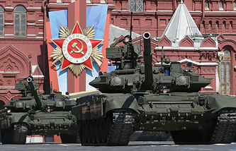Victory Day parade in 2014