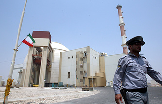 Nuclear power plant in Bushehr, Iran