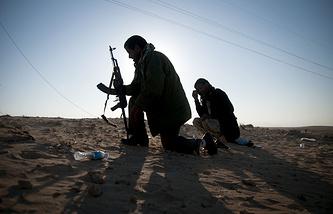 Lybian rebels (archive)