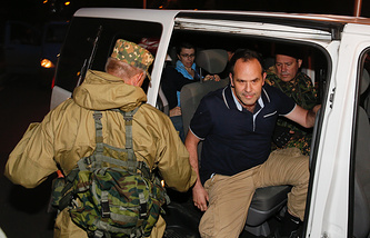 OSCE observers being released on June 29