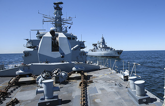 NATO ships (archive)