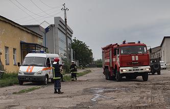 Luhansk after shelling, July 4