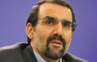 Iranian Ambassador to Russia Mehdi Sanaei
