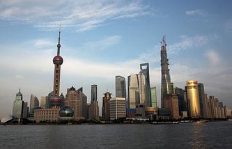 A view of Shanghai