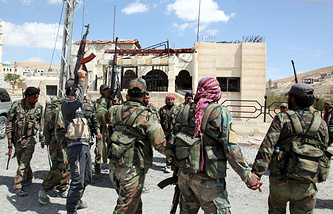Syrian soldiers (archive)