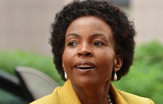 Minister of International Relations and Cooperation of South Africa Maite Emily Nkoana Mashabane