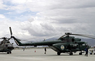 Mi-17 helicopters in Afghanistan (archive)