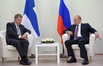Sauli Niinisto and Vladimir Putin(archive)