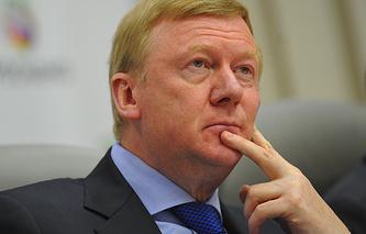 Chief Executive of the Russian Rosnano Corporation Anatoly Chubais