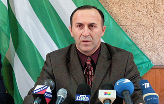 Head of Abkhazia's Central Election Commission Batal Tabagua