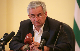 Abkhazia's President-Elect Raul Khadjimba