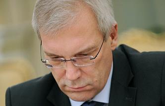Russia's Ambassador to NATO Alexander Grushko