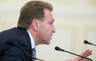 Russian Deputy Prime Minister Igor Shuvalov