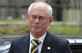 European Council President Herman Van Rompuy
