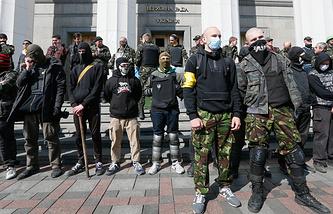 Nationalist radicals in Ukraine