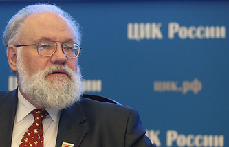Chairman of the Russian Central Election Commission Vladimir Churov