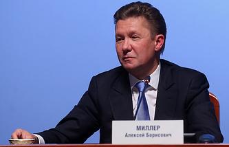 Gazprom CEO Alexey Miller