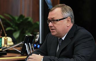 VTB CEO Andrey Kostin