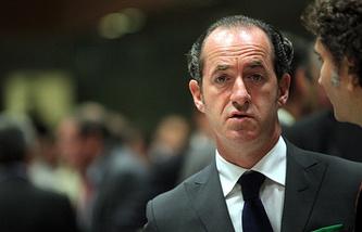 Veneto's President Luca Zaia