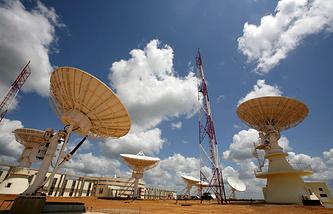 Simon Bolivar Space Satellite Observatory in Venezuela