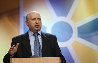 Verkhovna Rada Speaker Oleksandr Turchynov